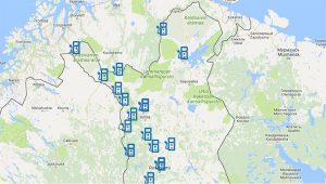 Katso kaikki Suomen latauspisteet