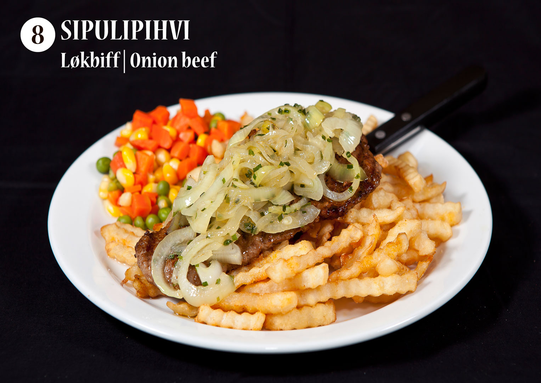 Sipulipihvi | Løkbiff | Onion beef