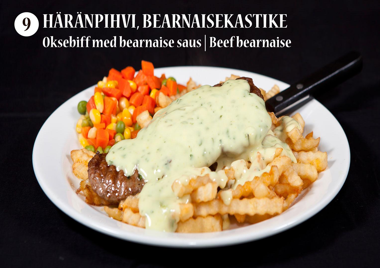 Häränpihvi bearnaisekastikkeella | Oksebiff med bearnaise saus | Beef bearnaise