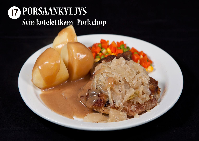 Porsaankyljys | Svin kotelettkam | Pork chop